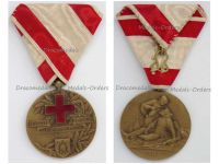 Serbia WWI Bronze Medal Merit Serbian Red Cross 1914