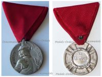 Serbia WWI Milos Obilic Bravery Medal Silver Class 36mm by Huguenin Freres