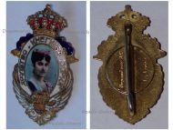 Serbia WW1 Princess Zorka Montenegro Society Serb Women Badge Honor Decoration Serbian by Huguenin Freres