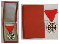 Spain Royal Military Order Our Lady Montesa Knight's Cross Spanish WW2 Decoration Award Boxed