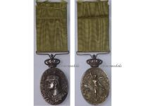 Spain Campaign Morocco 1915 Silver Military Medal Spanish Decoration King Alfonso XIII Colonial Africa