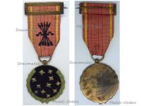 Spain WWII Falange Old Guard Fascist Party Member Medal Dated 1934 Spanish Civil War 1936 1939 Nationalist Forces General Franco