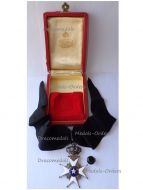 Sweden WWI Order North Star Commander's Cross by Carlman Boxed