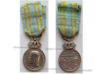 Sweden 1912 Stockholm Summer Olympics Silver Medal Merit King Gustaf V Swedish Decoration MINI