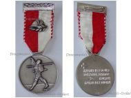 Switzerland Two Day March Medal Bern Military Swiss Commemorative Decoration Award Maker Huguenin