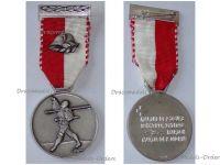 Switzerland Two Day March Medal Bern Military Swiss Commemorative Decoration Award Maker Huguenin
