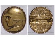 Switzerland WWI National Donation Badge for the Support of the Soldiers Families by Frei