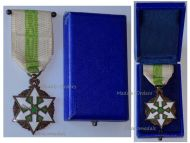 Medal Honor Merit Bronze Class French Mandate 1926 Decoration by Artus Bertrand Cased