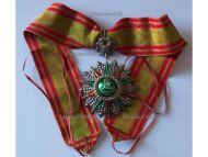 Tunisia Order Nichan Iftikhar Commander's Star Military Medal 1882 1902 Ali Muddat Bey Tunisian Decoration