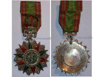 Tunisia Order Nichan Iftikhar Officer's Star Military Medal 1859 1882 Sadok Bey Tunisian Decoration