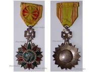 Tunisia WWII Order of Nichan Iftikhar Officer's Star Sidi Ahmed II Bey 1929 1942