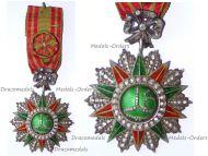 Tunisia Order of Nichan Iftikhar Officer's Star Ali Muddat Bey 1882 1902