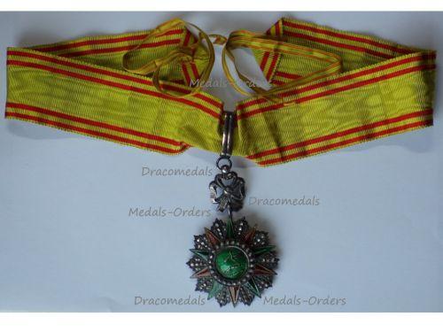 Tunisia WWI Tunisia Order of Nichan Iftikhar Commander's Star Mohamed al Nasir Bey 1906 1922 by Artus Bertrand