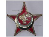 Turkey WW1 Gallipoli Star 1915 BB&Co Ottoman Medal Badge Dardanelles Decoration Great War 1914 1918