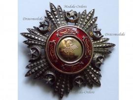 Turkey Ottoman Order Medjidie Breast Star Turkish Military Medal Decoration Crimean War 1854 1856