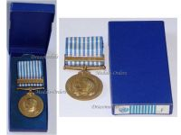 UN Korean War Commemorative Medal 1950 1953 French Type Boxed
