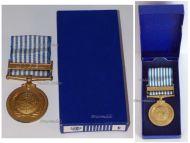 UN Korean War Commemorative Medal 1950 1953 Dutch Type Boxed
