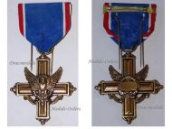 USA US Army Distinguished Service Cross Military Medal Decoration Award Marked G27