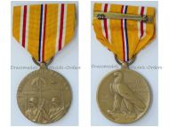 USA WW2 Asiatic Pacific Campaign Medal 2nd World War WWII 1941 1945 Commemorative Military Decoration Award