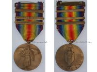USA WW1 Victory Interallied Military Medal Commemorative WWI 1914 1918 Great War Ypres Lys Somme Offense