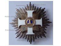 Vatican WWI Order St Sylvester Grand Cross Star by Artus Bertrand