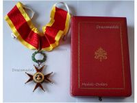 Vatican WWII Order St Saint Gregory Commander's Cross Medal Pope Papal Decoration Award Boxed by Casazza