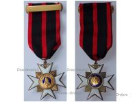Vatican WWII Order St Saint Sylvester Knight's Cross Medal Pope Gregory XVI 1841 Papal Decoration 1930s Silver 929