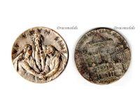 Vatican Jubilee 1975 Medal UT UNUM SINT Pope Paul VI Catholic Church Commemorative Papal Decoration