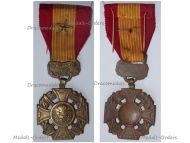 South Vietnam Gallantry Cross with Star Citation French Made Type of the 1950s