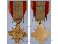 South Vietnam Military Medal Honor Merit Army 1st Class Cross Vietnamese Decoration 1953 Colonial Wars