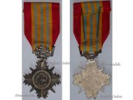 South Vietnam Military Medal Honor Merit Army 2nd Class Cross Vietnamese Decoration 1953 Colonial Wars