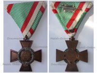 Hungary WWII Fire Cross 1941 for Non Combatants 1942 Issue