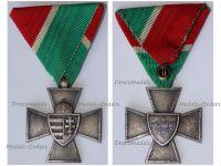 Hungary WWII National Defense Cross 1940 Regular Type in Zinc