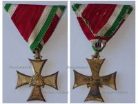 Hungary WWII Officer Long Service Cross Military Medal Dated 1937 Decoration Hungarian Admiral Horthy Axis