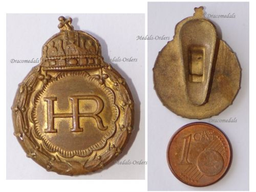 Hungary WWI WWII Wound Badge for War Invalids 1931