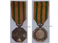 Luxembourg WW1 Order Crown Oak Bronze Medal Luxembourgish Decoration Award 1914 1918 Great War