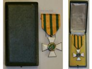 Luxembourg  WW1 Order Crown Oak Knight Cross Luxembourgish Decoration 1914 1918 WWI Boxed Great War
