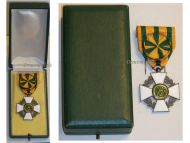 Luxembourg  WW1 Order Crown Oak Officer's Cross Luxembourgish Decoration 1914 1918 WWI Boxed Great War