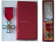 Luxembourg WW2 Order Merit Knight Grand Duchy Duchess Charlotte Award 1940 1945 Luxembourgish Decoration Boxed