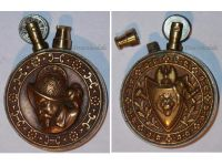 France Trench Art WW1 Lighter Spanish Conquistador WWI 1914 1918 Great War Patriotic French