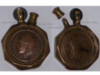 France Trench Art WW1 Lighter Marianne George V French British Military WWI 1914 1918 Great War Patriotic