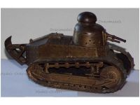 France Trench Art WW1 Renault FT17 Tank French Military Inkwell Great War 1914 1918