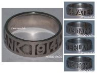 Germany WW1 Ring Motherland Fatherland Thanks Veterans Patriotic Great War 1914 1918 German Prussia Imperial Army