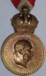 Austria Hungary Military Merit Medals (Signum Laudis)