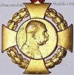 Austria Hungary Kaiser Franz Joseph's Golden & Diamond Jubilee Medals (1898 & 1908)