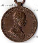 Austria Hungary Bravery Medals (Tapferkeit & Fortitudini)
