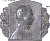 Austria Hungary WWI Kaiser Karl Cap Badges