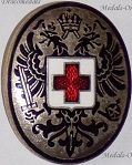 Austria Hungary WWI Red Cross, Medical Personnel & Hospitals Cap Badges