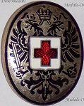 Austria Hungary WWI Red Cross, Medical Personnel & Hospitals Cap Badges