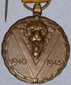 Belgian WW2 & posterior Medals